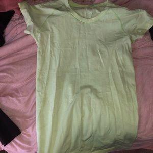 Yellow Swiftly tech short sleeve// 6